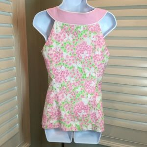 Lilly Pulitzer Tops - Lilly Pulitzer Butterfly Floral Top, 4